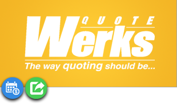 QuoteWerks Tile with Icons