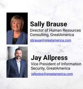Jay Allpress & Sally Brause Card